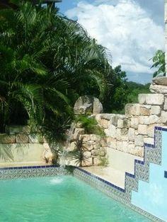 MAYAN POOL - Hotel Izamal, Hacienda Izamal hotel, HACIENDA HOTEL SANTO DOMINGO,