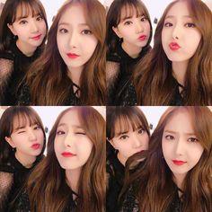 Gfriend SinB and Eunha