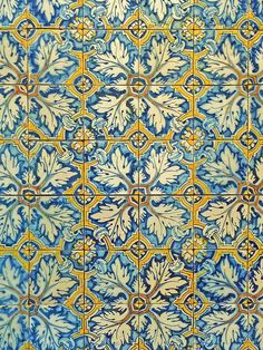 Portuguese tile pattern I by Daniel Schwabe, via Flickr