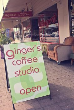 Ginger's Coffee Studio and Vintage Lounge Bar, Goodwood Road