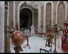 Just watched Return to Oz with Caeden tonight (he loved it)!  I used to dream about the ornament room because I wanted more time to look around in it!