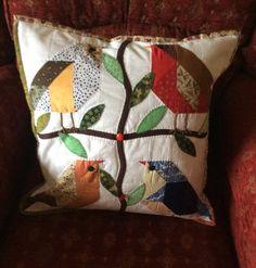Another bird cushion.