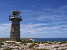 West Cape Lighthouse, Innes National Park, Yorke Peninsula, South Australia