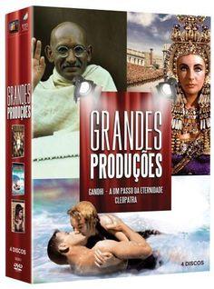 DVD Coleção Grandes Produções - 4 Discos