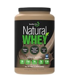 Bodylogix Natural Grass-Fed Whey Protein Powder, Decadent Chocolate, 1.85 Pound >>> You can get more details by clicking on the image.