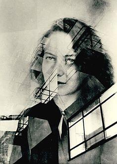 Otti Berger und das Bauhaus, Doppelbelichtung, 1931, Bauhaus-Archiv Berlin