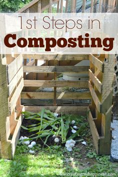 Composting is a great way to save money and take care of the earth. Here are the simple first steps you need to take to get started.