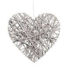 Coeur lumineux gris moyen modèle