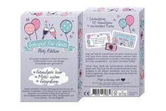 Fotospiel Party Edition Kartenbox mit 50 kreativen Fotoaufgaben (Geburtstag, JGA, Familienfest, Firmenfeier) Lustiges Partyspiel für Erwachsene - tolle Fotos & viel Spaß garantiert!