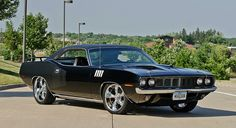 1971 Plymouth Cuda 383. Awesome American Muscle Car!