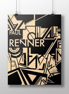 Paul Renner Futura — Michelle Fok   Designer