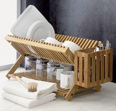 This is a creative idea good plate racks.