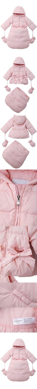 cc923851eb36 Kids Baby Girls Fleece Coat Winter Warm Jacket Outerwear (4 Years ...