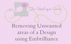 Applique Placement Made Easy (Silver Thread) adminMay Comment Applique Fabric, Embroidery Applique, Machine Embroidery Designs, Embroidery Software, Embroidery Digitizing, Janome, Fabric Manipulation, Make It Simple, Monogram