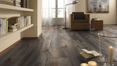 It's time to relax in a new environment with our Wooden Flooring. Laminate Flooring - Mammut Plus Macro Oak Grey (EIR) Wood Flooring Options, Solid Wood Flooring, Parquet Flooring, Hardwood Floors, Wood Laminate, Laminate Flooring, Stone Cladding, Luxury Vinyl, Floor Design