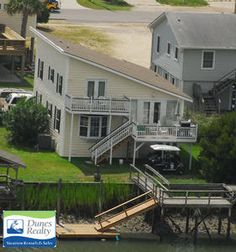Garden City Beach Rental Beach Home: Cobia Cottage | Myrtle Beach Vacation Rentals by Dunes Realty