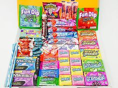 #American #sweets gift box - usa candy gift hamper 60 items #wonka - present qc10, View more on the LINK: http://www.zeppy.io/product/gb/2/331477929710/