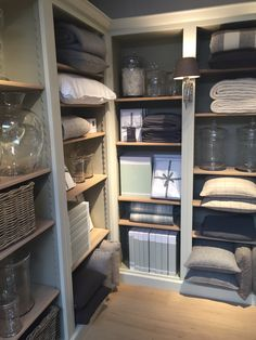 Organised beauty! Neptune Pembroke shelves and accessories available in Neptune by browsers Limerick