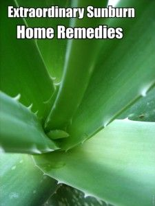 Extraordinary Sunburn Home Remedies http://www.goforhealthtips.com/extraordinary-sunburn-home-remedies