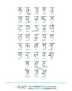"""Devanagari handwriting """"Ananda Ketaketi"""" on Behance"""
