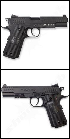 STI Duty One CO2 Softair Pistole 6 mm - max. 1,5 Joule    - Metallschlitten -   #shootclub #airsoft #softair