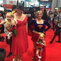 #NYCC #NYCC15 #NewYorkComicCon #NewYorkComicCon2015 #Cosplay #GoodParenting #Supergirl #WonderWoman #Aquababy #BatSomething
