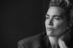 L'UOMO VOGUE - AN ACTING FANTASY - Kate Winslet, Le Touquet, 2015 - Peter Lindbergh