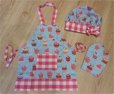 Avental Infantil - Kit Mini Chef                                                                                                                                                                                 Mais