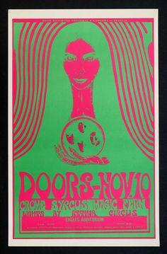 The Doors Original 1967 Eagles Auditorium Seattle.