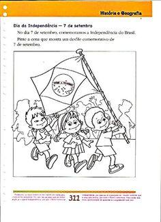 90 Atividades para a semana da Pátria: 7 de Setembro - Bandeira, símbolos nacionais etc. - ESPAÇO EDUCAR