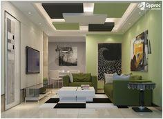 Fresco Of Vaulted Living Room Ideas  Modern Living Room Unique Dining Room Ceiling Designs Inspiration Design