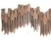 Vintage clothespins                ****