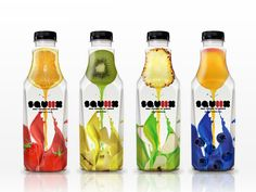 Best fruit juice packaging design world 34 ideas Packaging World, Fruit Packaging, Beverage Packaging, Bottle Packaging, Sleeve Packaging, Best Fruit Juice, Juice Branding, Identity Branding, Visual Identity