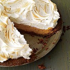 Sweet-Potato Meringue Pie Recipe | MyRecipes