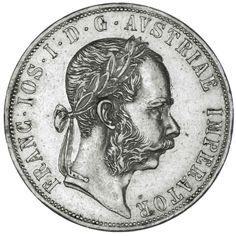 2 GULDEN 1877 KAISERREICH FRANZ JOSEPH I. 1848 - 1916