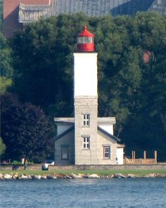 #lighthouse US part of Great Lakes / New York / Ogdensburg Harbor lighthouse http://bit.ly/1CYGYMO