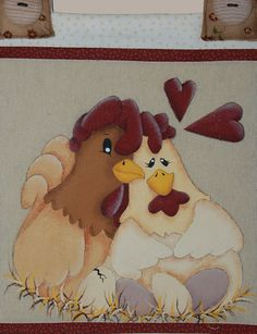 Free Chicken Applique Patterns | patterns, country painting, applique, stitchery - LizziebusyHandmade ...