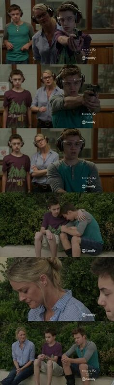 Stef, Jude and Connor