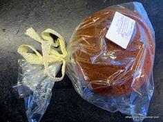 Иногда в ответ на традиционную коробку конфет на Рождество в ответ можно получить от финна хлеб