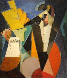 Albert Gleizes. Portrait of Igor Stravinsky. 1914. MoMA, NYC   by renzodionigi