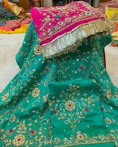 Bridal Suits Punjabi, Designer Punjabi Suits Patiala, Punjabi Suits Party Wear, Punjabi Suits Designer Boutique, Indian Designer Suits, Indian Party Wear, Patiala Salwar, Embroidery Suits Punjabi, Embroidery Suits Design
