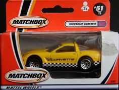 Model Matchbox Chevrolet Corvette