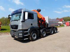 Camion poids lourd Plateau Man Tgx occasion