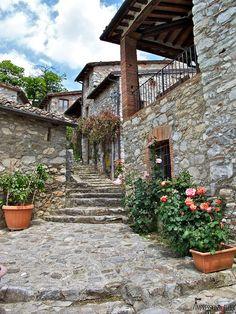 Borgo Giusto, Lucca, Tuscany, Italy