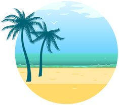 Summer Sea Decoration PNG Clipart Image