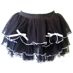Death Kitty Black Bow Tutu | Gothic Clothing | Emo clothing |... ($18) ❤ liked on Polyvore featuring skirts, bottoms, gonne, tutu, punk rock skirts, goth skirt, gothic lolita skirts, gothic skirts and bow skirts