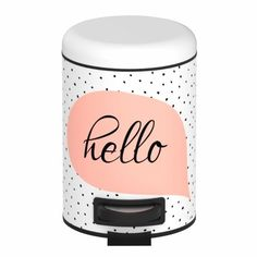 Coș de gunoi cu pedală, Wenko Hello, 3 l Metal Epoxy, Bad, Mugs, Tableware, Home, Passion, Products, Waste Container, Bamboo