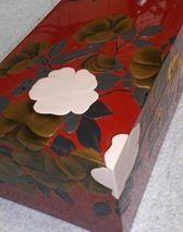 蒔絵の手順 1~2 粉固め。 http://waca-jhi.hatenadiary.jp/entry/2014/03/07/193254