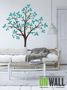 Baby Nursery Tree Wall Decal Wall Sticker  Tree by ONWALLstudio, 76.00
