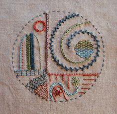 Embroidery swatch swap